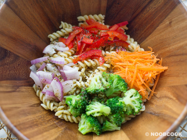 Kenny Roger Garden Pasta Recipe (Step-by-Step)