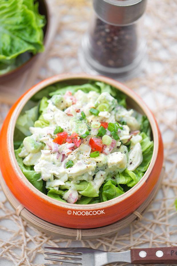 Lump Crab Avocado Salad Recipe