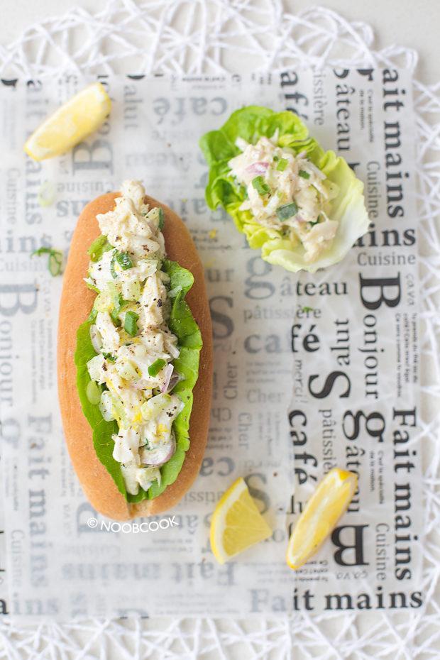 Lump Crab Roll Recipe