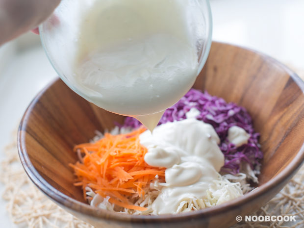 Greek Yoghurt Coleslaw Salad (Step-by-Step)