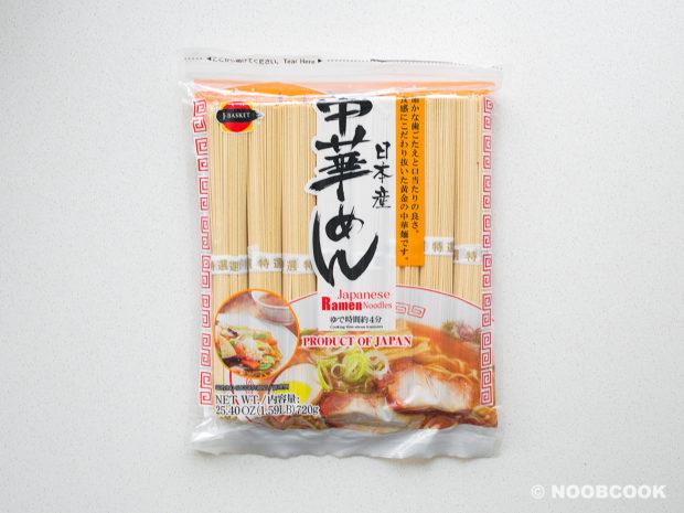 Instant Dry Ramen Noodles