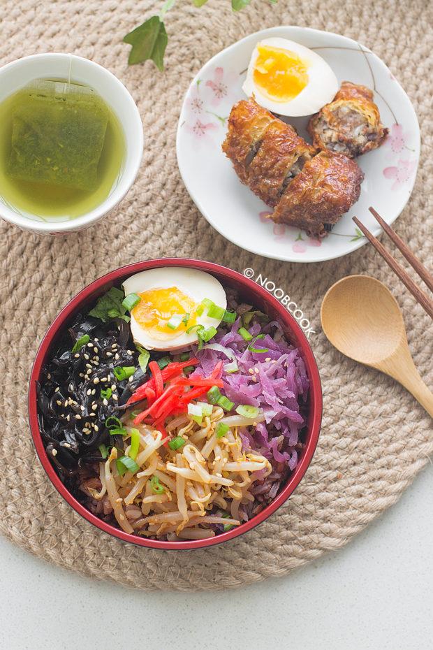 Ramen Toppings Rice Bowl