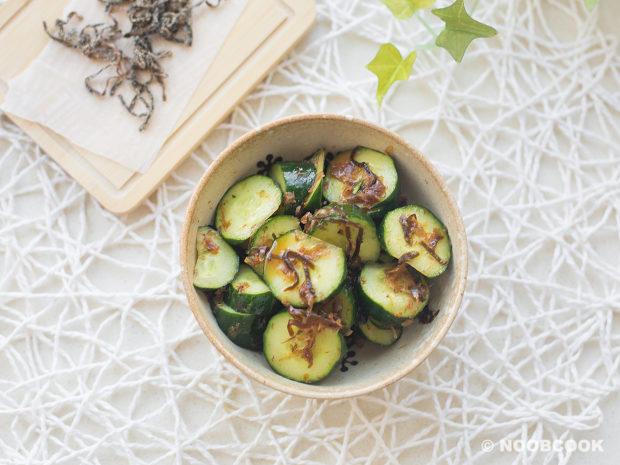 Salted Kelp Cucumber Salad Recipe