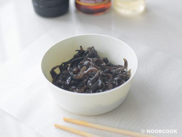 Seasoned Julienned Black Fungus
