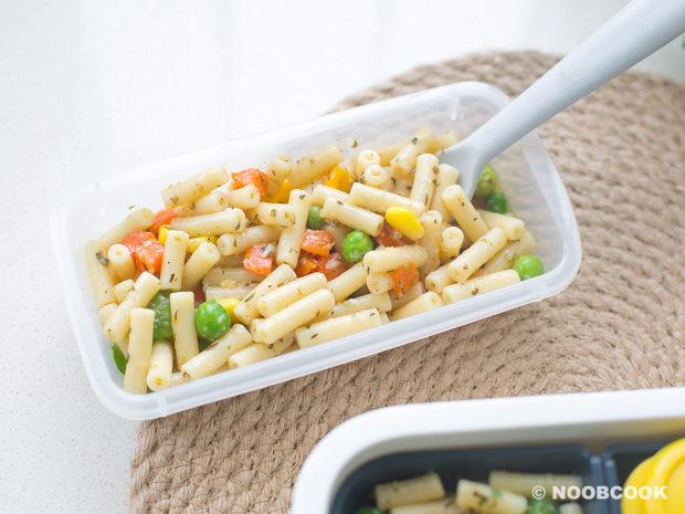 Italian Garden Pasta (Made_with_Frozen Veg)