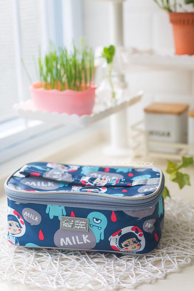 Onigiri Dumpling Bento Bag