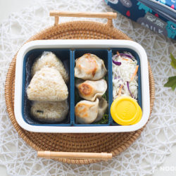 Onigiri Dumpling Lunch Box Recipe