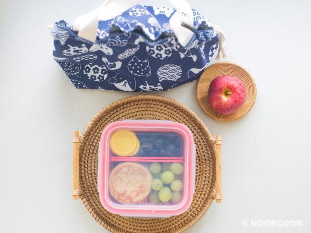 Pancake Lunch Box Bento Bag