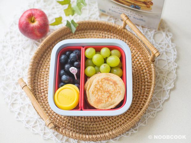 Pancake Lunch Box Using Keto Pancake Mix