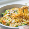 Baby Abalone Ee-Fu Noodles Recipe