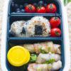 Bacon Wraps Onigiri Lunch Box Recipe