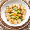 XO Sauce Asparagus & Scallops Recipe