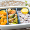XO Sauce Asparagus & Scallops Lunch Box Recipe