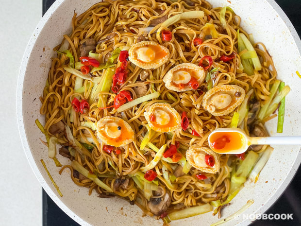 XO Sauce Ee-Fu Noodles (Step-by-Step)
