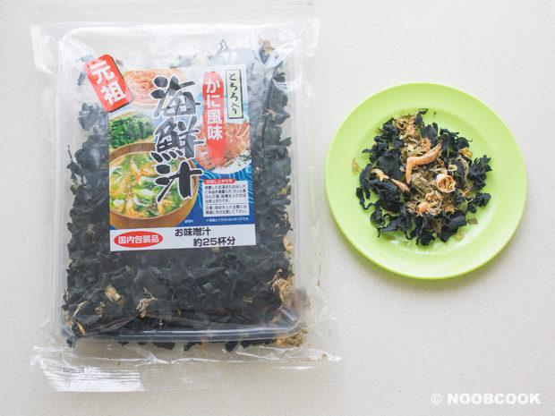 Dried Kelp Mix (Miso Soup)