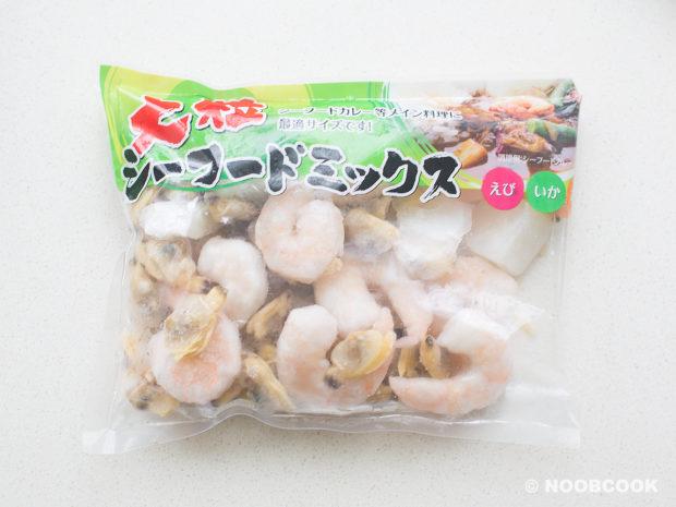 Frozen Seafood Pack (Shrimp, Squid, Clam)