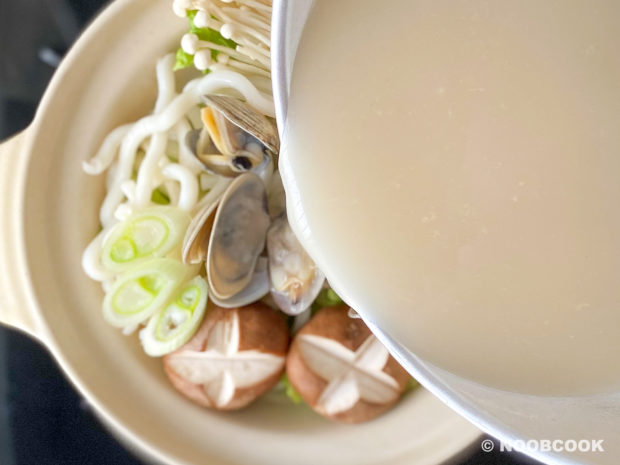 Seafood Udon Noodle Soup (Step-by-Step)