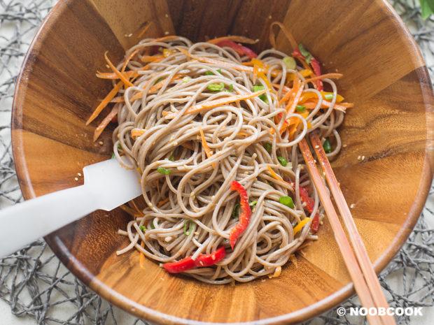 Sesame Soba Noodle (Step-by-Step)