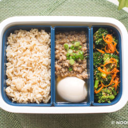 Shallot Sauce Minced Pork Rice (Lunch Box Recipe)