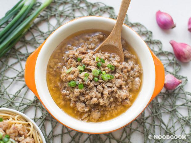 Taiwanese Shallot Sauce Meat Recipe