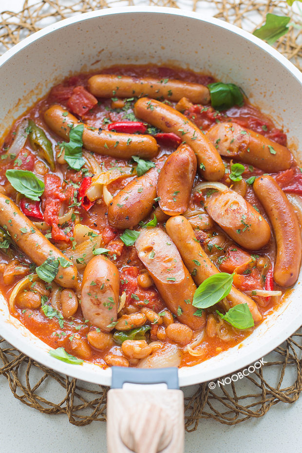 Easy Sausage & Baked Beans Recipe