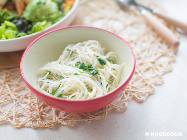 Extra Scallion Somen Noodles