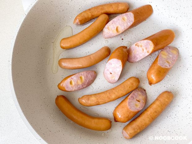 Sausage and Baked Beans (Step-by-Step)