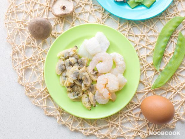 Seafood Mix (Shrimp, Clam, Squid)