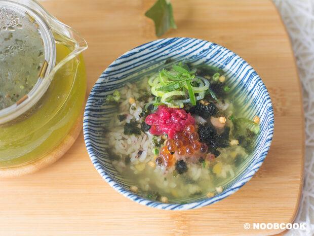 Umeboshi Ochazuke (Plum Japanese Tea Rice) Recipe