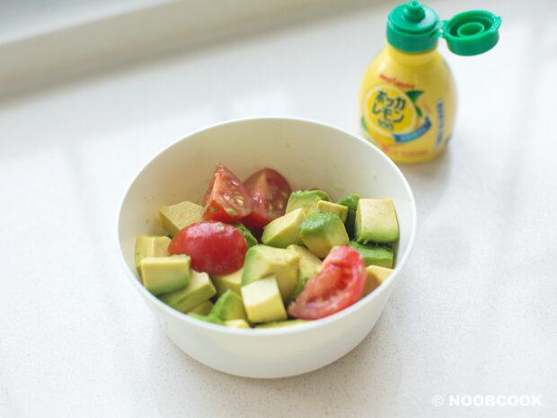 Avocado in Lemon Juice