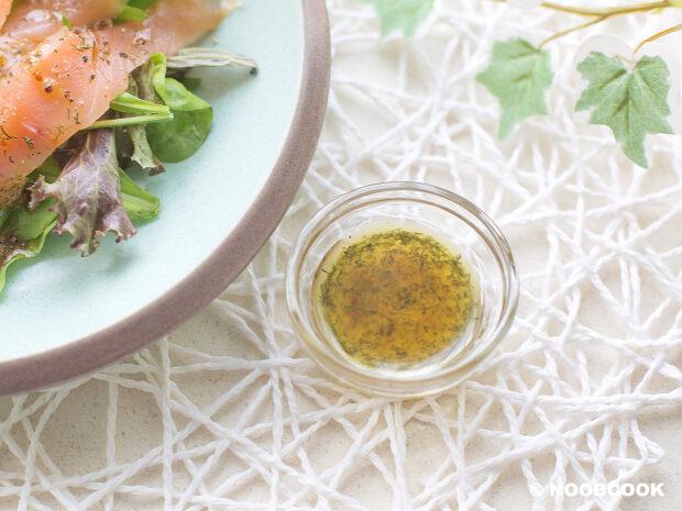 Dill Vinaigrette Dressing for Smoked Salmon Recipe