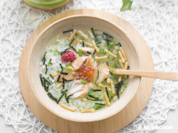 Saba Ochazuke Recipe (Mackerel Japanese Tea Rice)