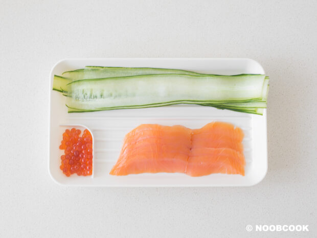 Smoked Salmon Cucumber Salad Ingredients
