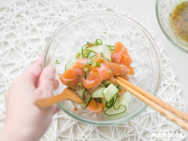 Smoked Salmon Cucumber Salad Recipe (Step-by-Step)