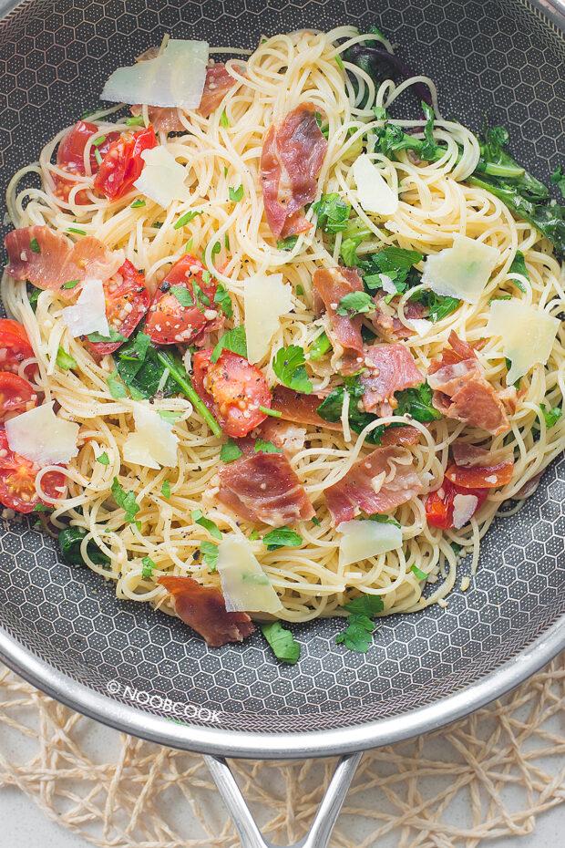 Prosciutto (Parma Ham) Pasta Recipe