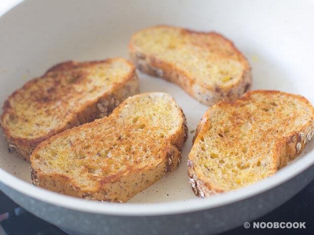 Quick Garlic Bread Toast