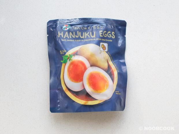 7-11 Hanjuku Eggs (Soft-Boiled Eggs)