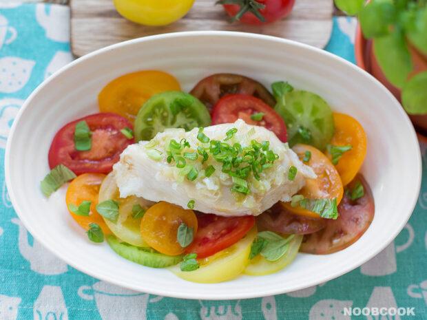 Heirloom Tomato Chicken Salad Recipe