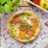 Heirloom Tomato Focaccia Pizza Recipe