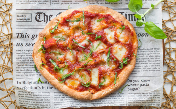Margherita Focaccia Pizza Recipe