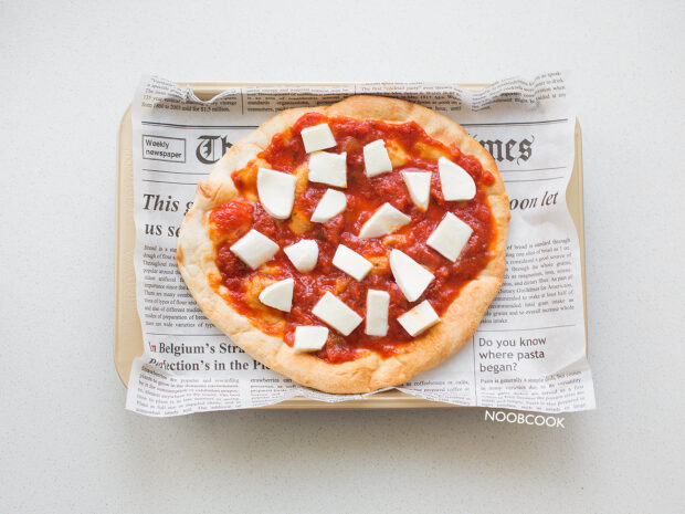 Margherita Focaccia Pizza (Step-by-Step)